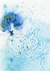 Рисунки на воде